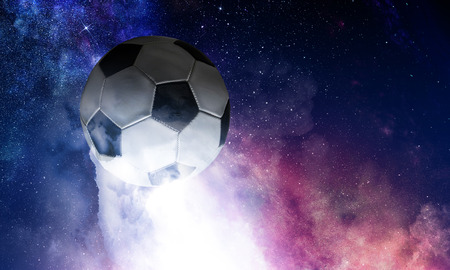 Soccer game concept 写真素材