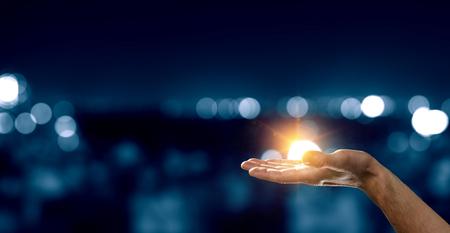 Light of hope Фото со стока