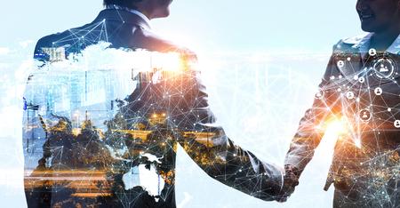 Konzept der Partnerschaft und sozialen Verbindung