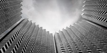 Successful industrial architecture Banco de Imagens