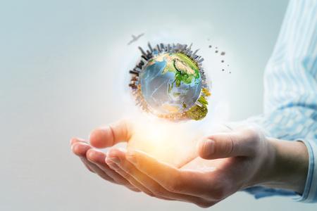 Hele wereld in handen