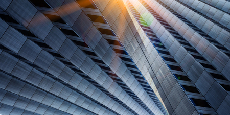 Successful industrial architecture Stock Photo