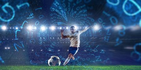Mejores momentos de fútbol. Técnica mixta