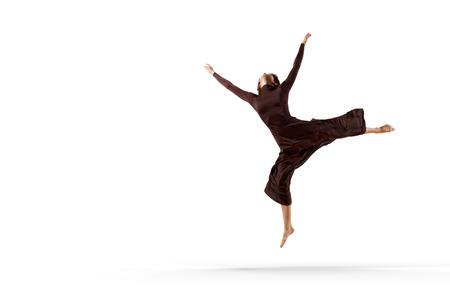 Young dancer performing Stock fotó