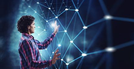 Future technologies today Reklamní fotografie