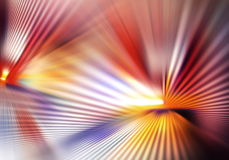 abstract colourful background with light and crossed lines of rays and shadows spreading in different directions and intercrossing