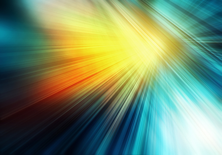 abstract colourful background with straight rays imitating sun shining