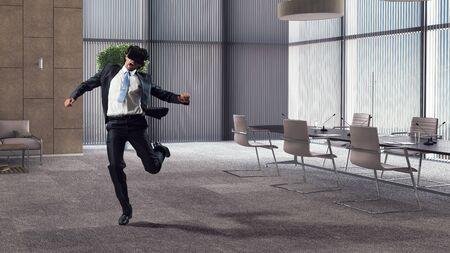 Try virtual reality. Mixed media 版權商用圖片