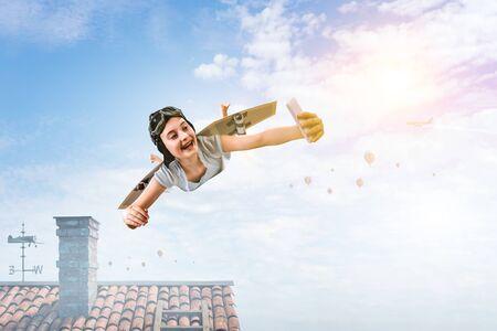 I can fly. Mixed media Imagens