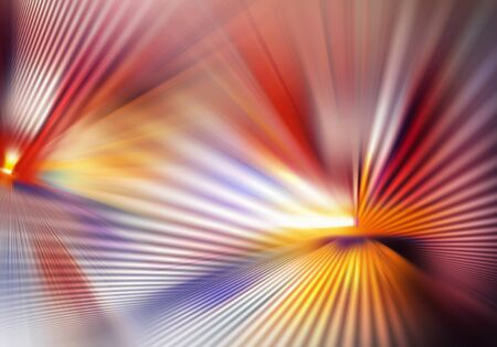 abstract colourful background with light and crossed lines of light spreading in different directions and intercrossing