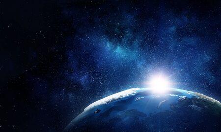 Unser einzigartiges Universum Standard-Bild