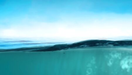 Abstract background image with crystal blue water