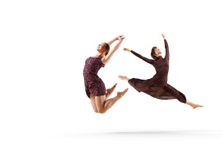 Dance as a lifestyle . Mixed media Stok Fotoğraf