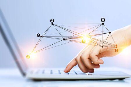 Concepto de negocio en red. Técnica mixta