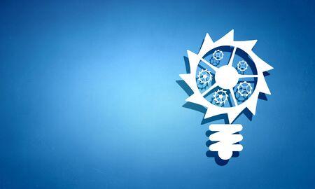 Working mechanism concept . Mixed media