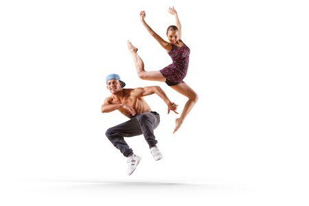 Dance as a lifestyle . Mixed media Standard-Bild