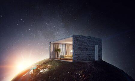Real estate concept . Mixed media Banque d'images
