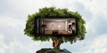 Concept immobilier et écologique
