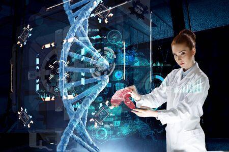 Innovative technologies in science and medicine Standard-Bild