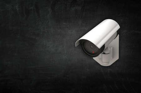 security camera surveillance . Mixed media