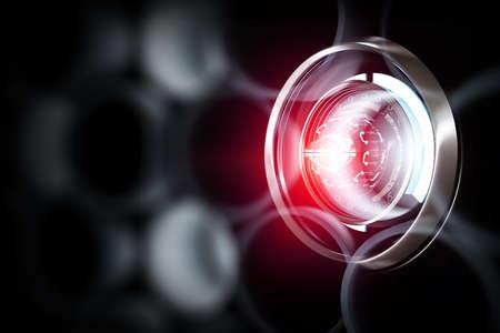 Innovative technologies image . Mixed media Banco de Imagens