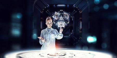 Innovative technologies in science and medicine Zdjęcie Seryjne