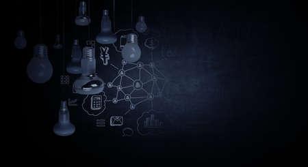 Light bulb as symbol of creativity