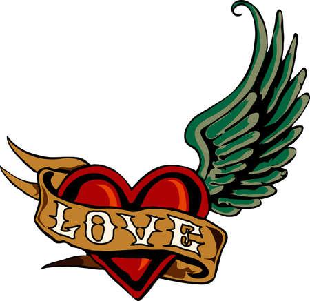 heart pain: Tattoo 01