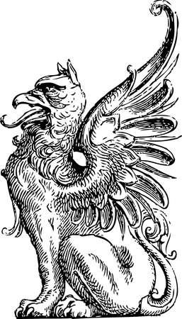 Détail Griffin # 02 Vecteurs