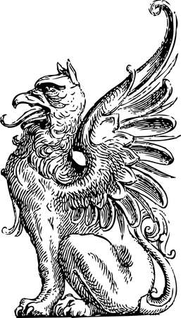 coats of arms: Detail Griffin # 02