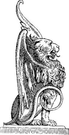 Detail Griffin # 03 Illustration