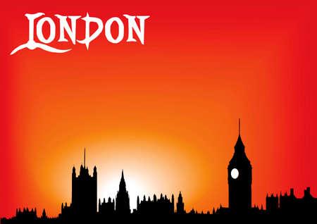 prince charles of england: London red skyline