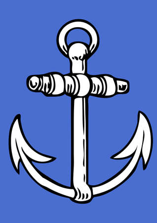 pirate crew: Tattoo Anker