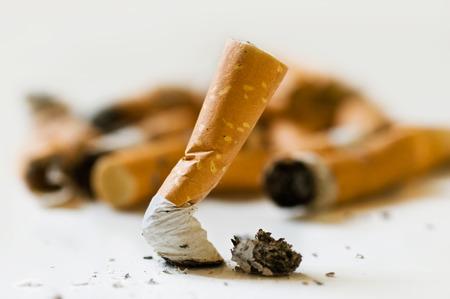 smoking: stop cigarette Stock Photo