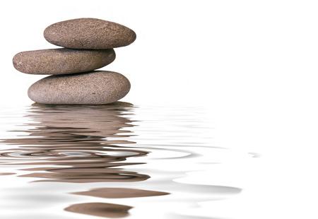 reflexion: piedras zen