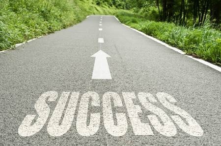 success on the road background