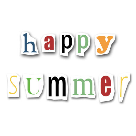 divided: creative divided word - Happy Summer