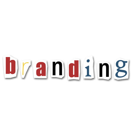 divided: creative divided word - Branding Stock Photo