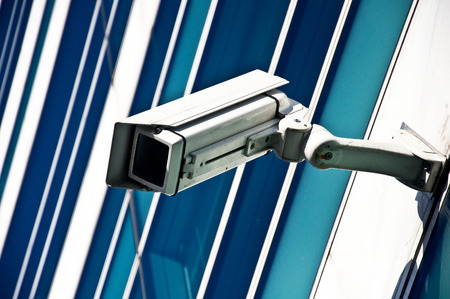 electronic security video camera  of surveillance photo