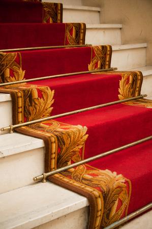red carper in palace hotel photo