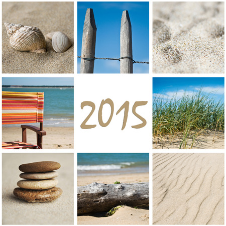 beach collage 2015 photo