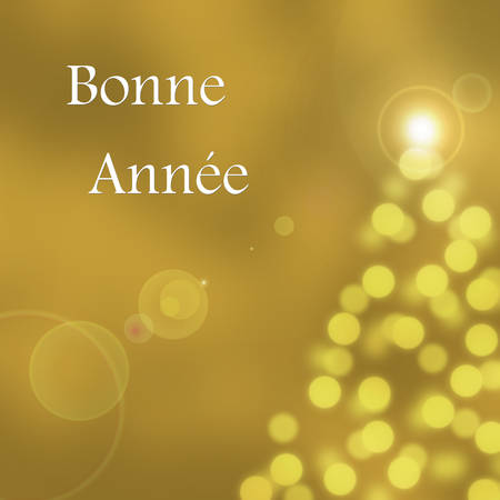 Abstract bokeh texture card - Happy new year 2015 photo