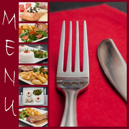 restaurant menu photo