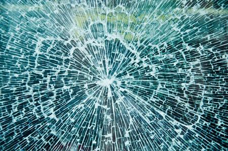 delincuencia: Textura de vidrio roto