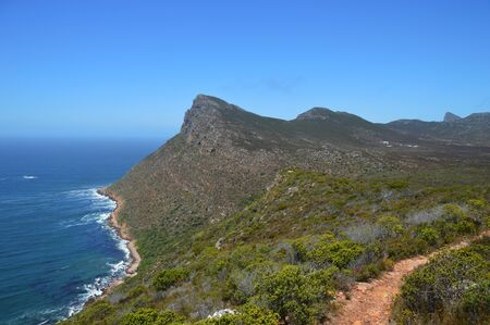 cape of good hope: the savage beach and rocks at Cape of good hope - South Africa