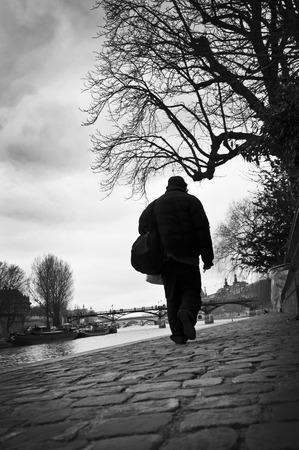 poor man: poor man in Paris