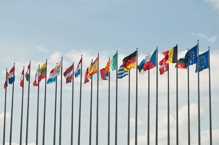 유럽 플래그