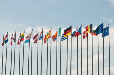 bandera de polonia: banderas europeas