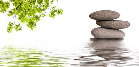zen banner background