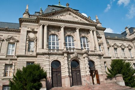 correctional: court of appeal in Colmar - Alsace - France Editorial